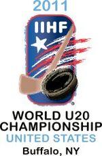 Логотип 2011 iihf world u20 chionship