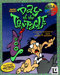 Обложка Day of Tentacle
