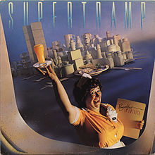 Обложка альбома Supertramp «Breakfast In America» (1979)