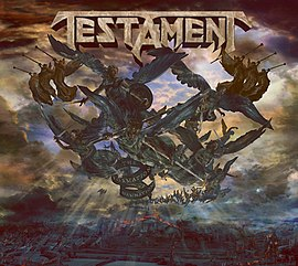 Обложка альбома Testament «The Formation of Damnation» (2008)