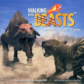 Обложка альбома Бена Бартлетта «Walking with Beasts (Music from The BBC TV Series)» ()