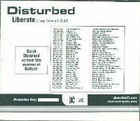 Обложка сингла «Liberate» (Disturbed, 2003)