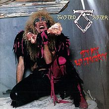 Обложка альбома Twisted Sister «Stay Hungry» (1984)