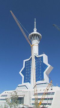 Ashgabat TV Tower Under construction3.JPG
