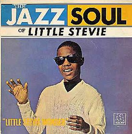 Обложка альбома Little Stevie Wonder «The Jazz Soul of Little Stevie» (1962)