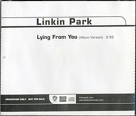 Обложка песни Linkin Park «Lying from You»