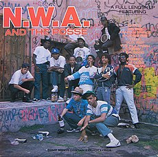 Обложка альбома N.W.A «N.W.A. and the Posse» (1987)