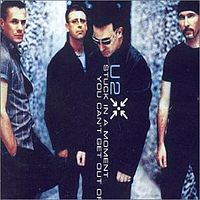 Обложка сингла «Stuck in a Moment You Can't Get Out Of» (U2, 2001)
