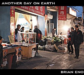 Обложка альбома Брайана Ино «Another Day on Earth» (2005)