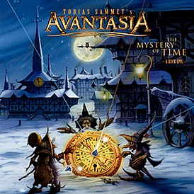 Обложка альбома Avantasia «The Mystery of Time» (2013)