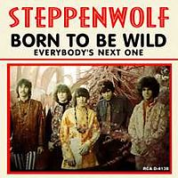 Обложка сингла «Born to Be Wild» (Steppenwolf, 1968)