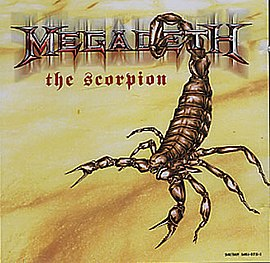 Обложка сингла Megadeth «The Scorpion» (2005)