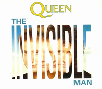 Обложка сингла «The Invisible Man» (Queen, 1989)