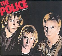 Обложка альбома The Police «Outlandos d'Amour» (1978)