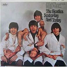 Обложка альбома The Beatles «Yesterday and Today» (1966)