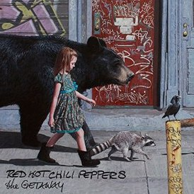 Обложка альбома Red Hot Chili Peppers «The Getaway» (2016)