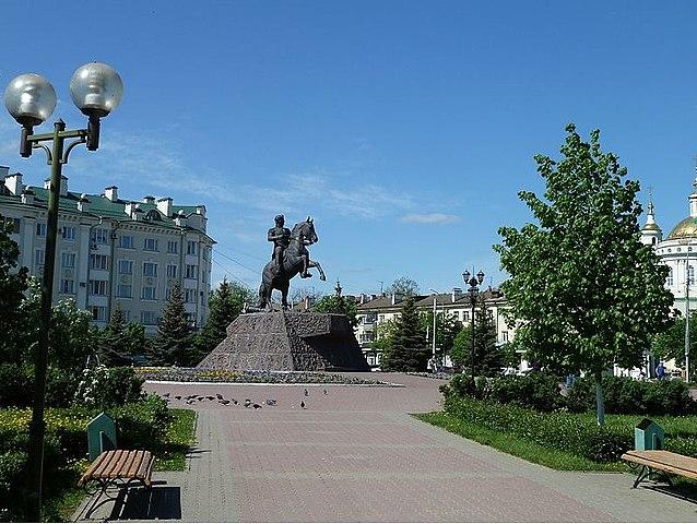 Памятник Ермолову в Орле