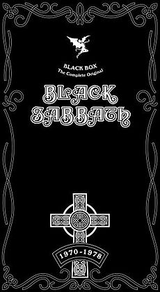 Обложка альбома Black Sabbath «Black Box: The Complete Original Black Sabbath (1970–1978)» (2004)