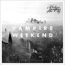 Обложка альбома Vampire Weekend «Modern Vampires of the City» (2013)