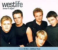 Обложка сингла «Swear It Again» (Westlife, 1999)