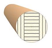 Схема тангентальной распиловки круглых лесоматериалов