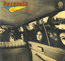 Обложка альбома Nazareth «Close Enough for Rock 'n' Roll» (1976)