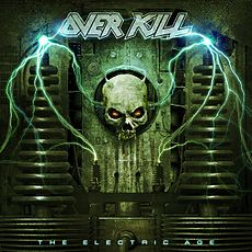 Обложка альбома Overkill «The Electric Age» (2012)