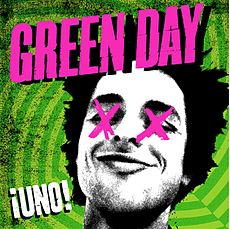 Обложка альбома Green Day «¡Uno!» (2012)