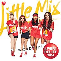 Обложка сингла «Word Up!» (Little Mix, 2014)