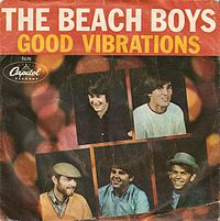 Обложка сингла «Good Vibrations» (The Beach Boys, 1966)