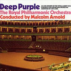Обложка альбома Deep Purple «Concerto for Group and Orchestra» (1969)