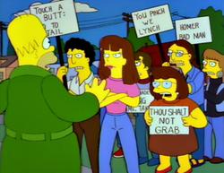 Гомер симпсон сексуальное домогательство