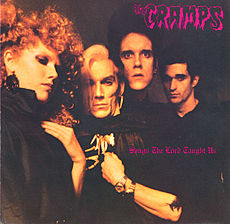 Обложка альбома The Cramps «Songs the Lord Taught Us» (1980)