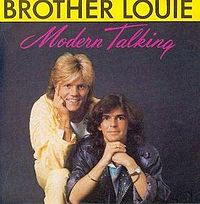 Обложка сингла «Brother Louie» (Modern Talking, 1986)