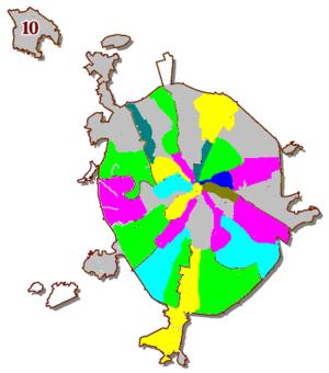 История административно-территориального деления Москвы.  Википедия.  Территориальные изменения г. Москвы с 1922 по...