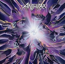 Обложка альбома Anthrax «We've Come For You All» (2003)
