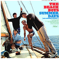 Обложка альбома The Beach Boys «Summer Days (And Summer Nights!!)» (1965)