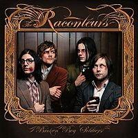 Обложка альбома The Raconteurs «Broken Boy Soldiers» (2006)