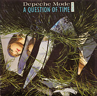 Обложка сингла «A Question of Time» (Depeche Mode, 1986)