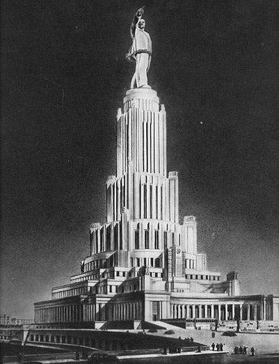 Веселые картинки.... 401px-Dvorec-sovetov1950