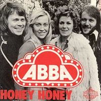 Обложка сингла «Honey, Honey» (ABBA, 1974)