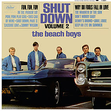 Обложка альбома The Beach Boys «Shut Down Volume 2» (1964)