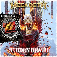 Обложка сингла «Sudden Death» (Megadeth, 2010)