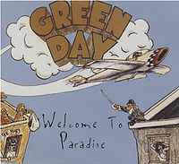 Обложка сингла «Welcome to Paradise» (Green Day, 1994)