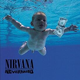 Обложка альбома Nirvana «Nevermind» (1991)