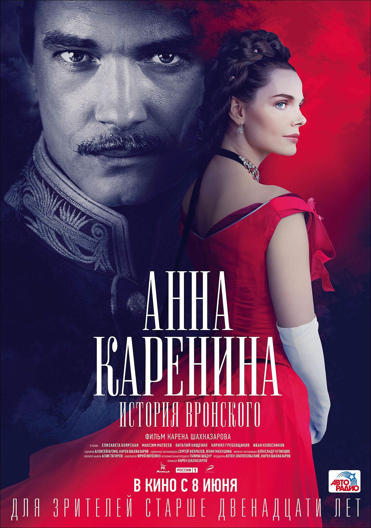Анна Каренина. История Вронского — Википедия