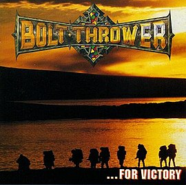Обложка альбома Bolt Thrower «...For Victory» (1994)