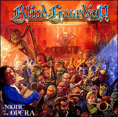 Обложка альбома Blind Guardian «A Night at the Opera» (2002)