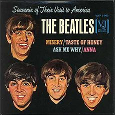 Обложка альбома The Beatles «Souvenir of Their Visit to America» (1964)