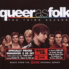 Обложка альбома  «Queer As Folk: The Third Season Soundtrack» (2003)